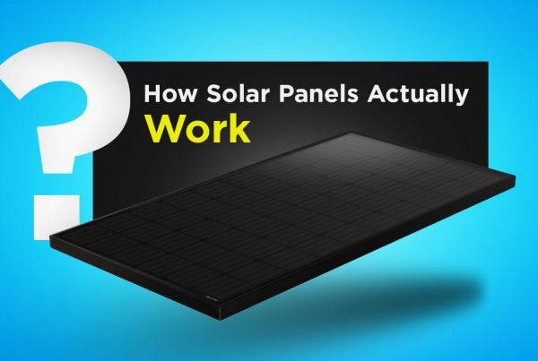 How solar panels actually works