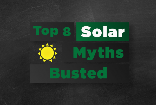 Top 8 solar myths - Busted